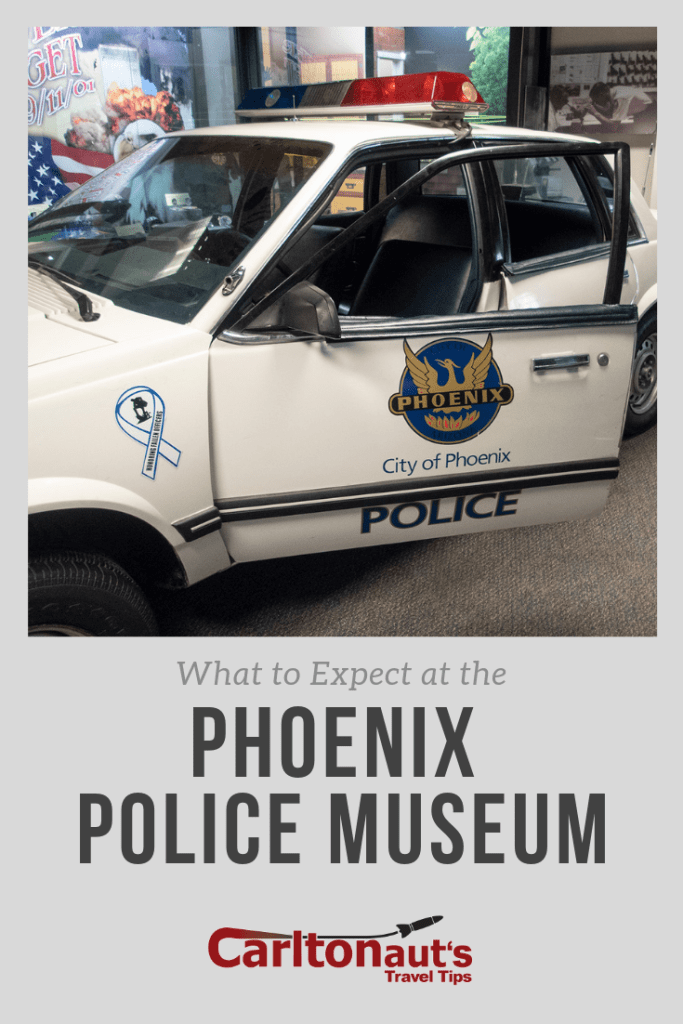 The Phoenix Police Museum Has Free Admission And Lots Of Really Cool Gadgets To Explore Police Museum Travel Tips