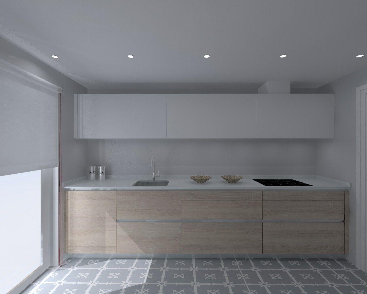 Proyectos cocinas modernas muebles de cocina con isla for Proyecto muebles de cocina