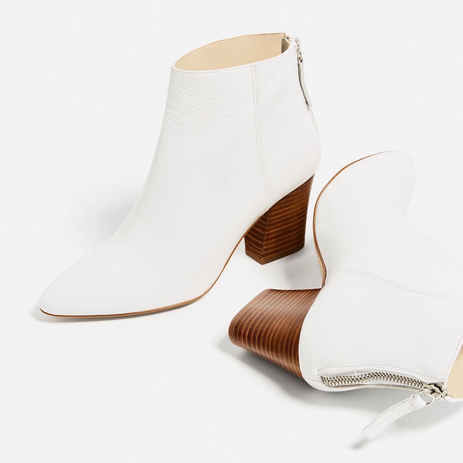 Moda no Sapatinho: botins brancos
