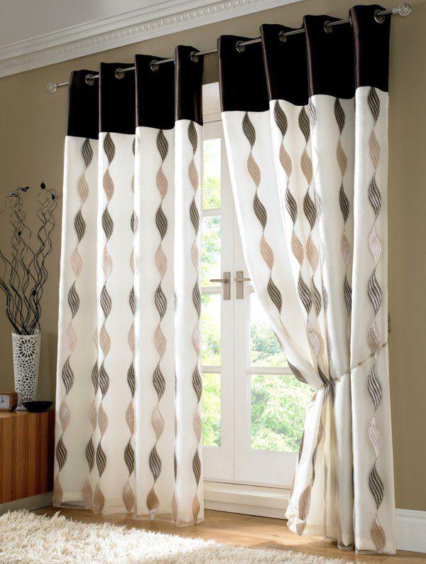 gardinen dekorationsvorschläge spirallen | gardinen | Pinterest ...