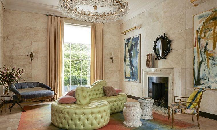 tende per soggiorno-arredamento-stile-classico | INTERIOR DESIGN ...