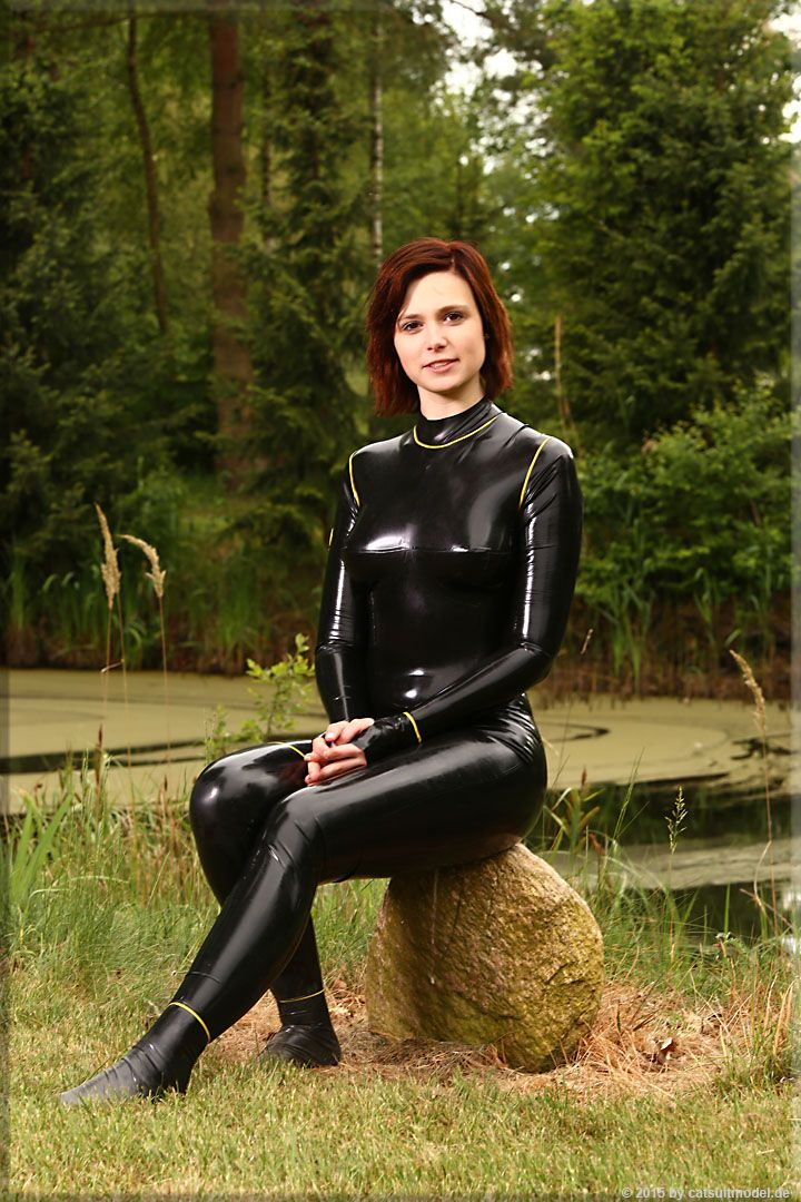 Girl In Catsuit