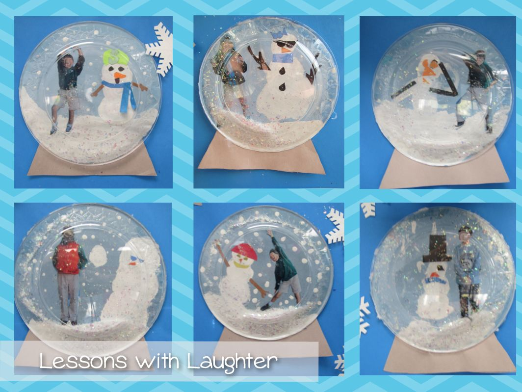 Snow globes writing lesson and craft craft bulletin for Snow globe craft for kids
