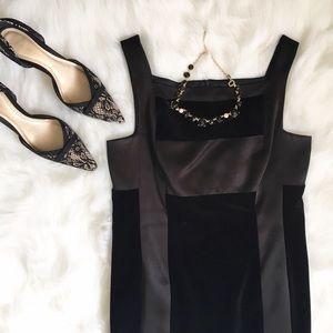 Laundry by Shelli Segal Dresses & Skirts - Laundry Black Velvet Dress - 10P