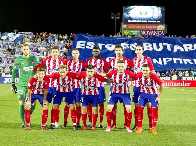 Atlético De Madrid Contra Leganés 30 09 2017 Liga De 1ª División Atletico De Madrid Futbol Atletico De Madrid Atleta