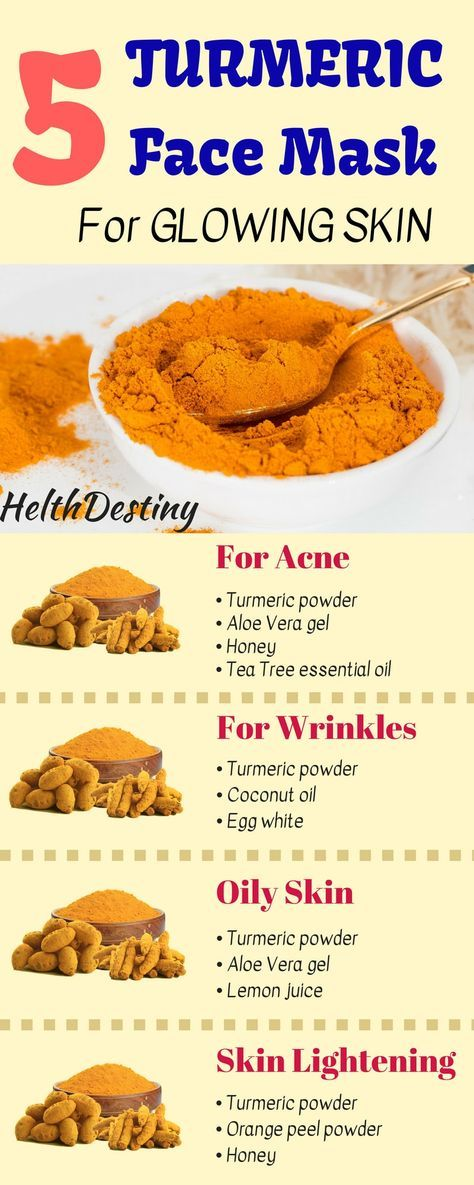 Turmeric Face Mask for Beautiful and Glowing Skin - HelthDestiny -   18 beauty Mask ideas