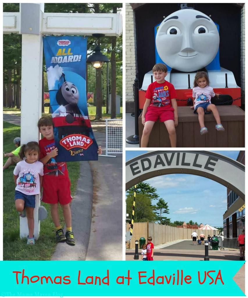 Visiting Thomas Land At Edaville USA