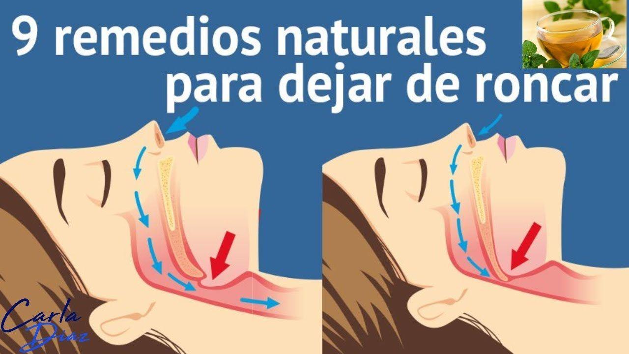 Como Dejar De Roncar Remedios Caseros Remedios Caseros Para Dejar De Roncar Hoy Mismo Belleza Salud