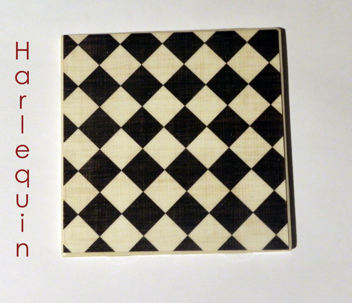 Ceramic tile coasters in harlequin design by homespunhullabaloo ceramic tile coasters in harlequin design by homespunhullabaloo 1200 dailygadgetfo Image collections