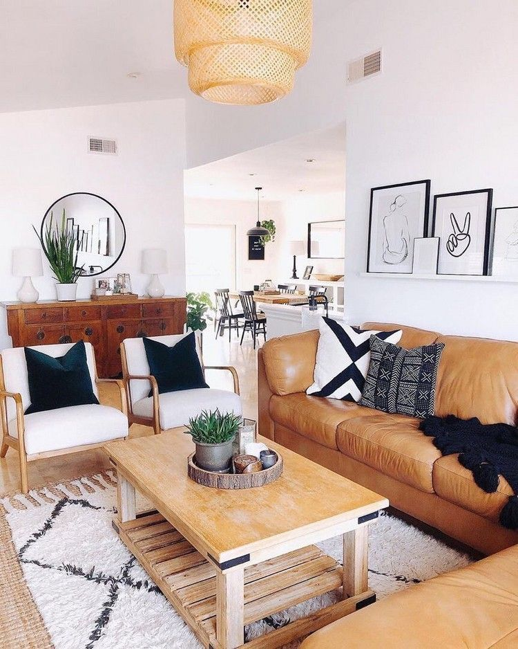 Boho Chic Fashion Living Room Decor Ideas