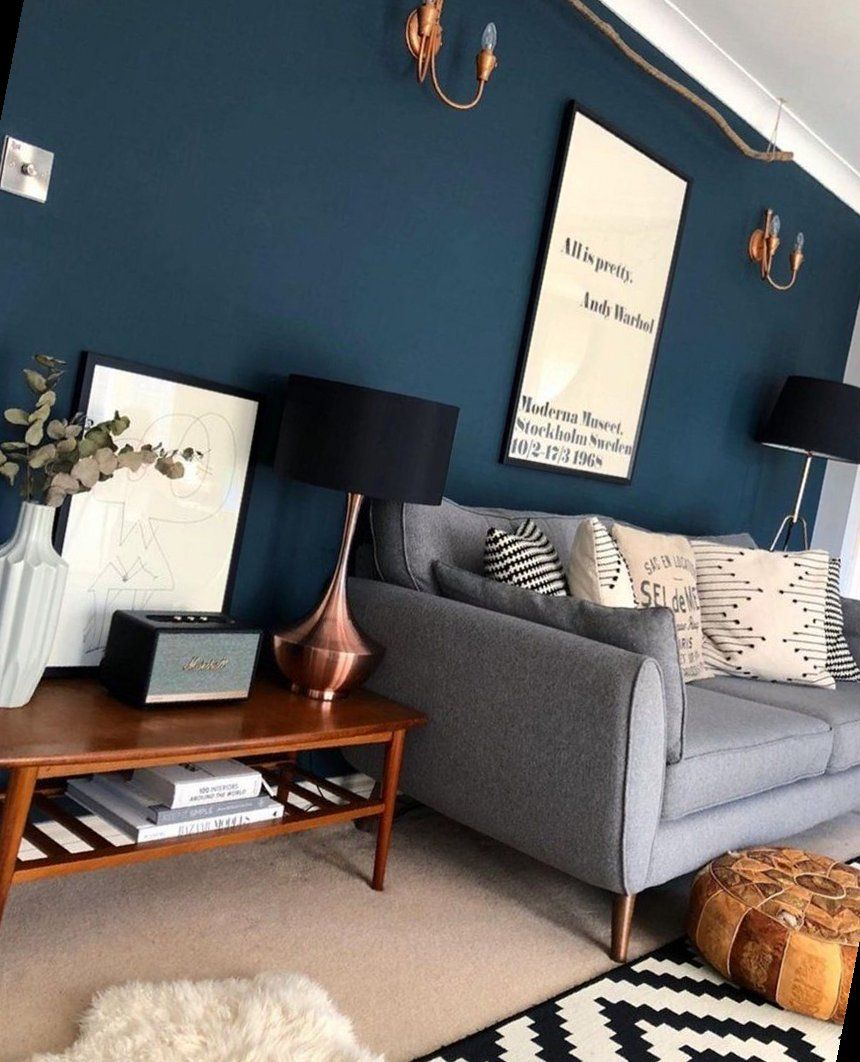 Photo of 21+ Classic Blue – Pantone Colour Of The Year  | Living Room Decor | 2020