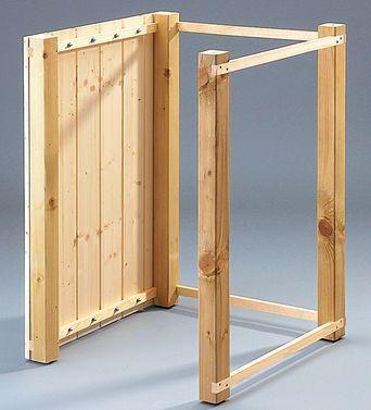 m lltonnenbox selber bauen m lltonnenh uschen pinterest m ll garten und tonne. Black Bedroom Furniture Sets. Home Design Ideas
