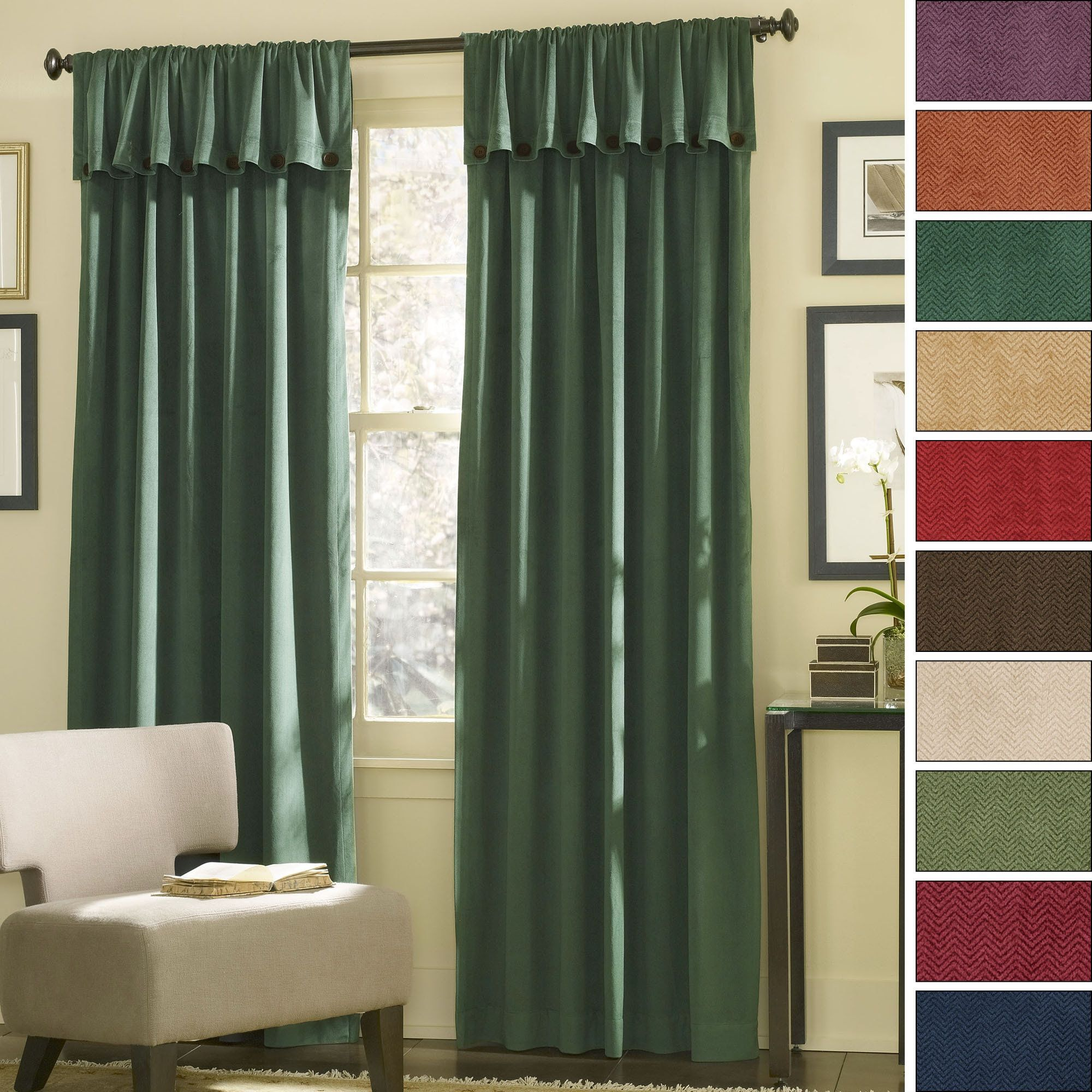Double Pocket Door Curtains