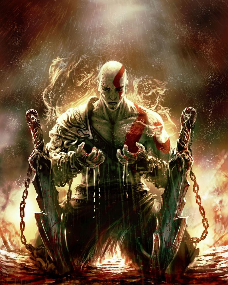 Kratos God Of War HD Wallpapers Backgrounds Wallpaper