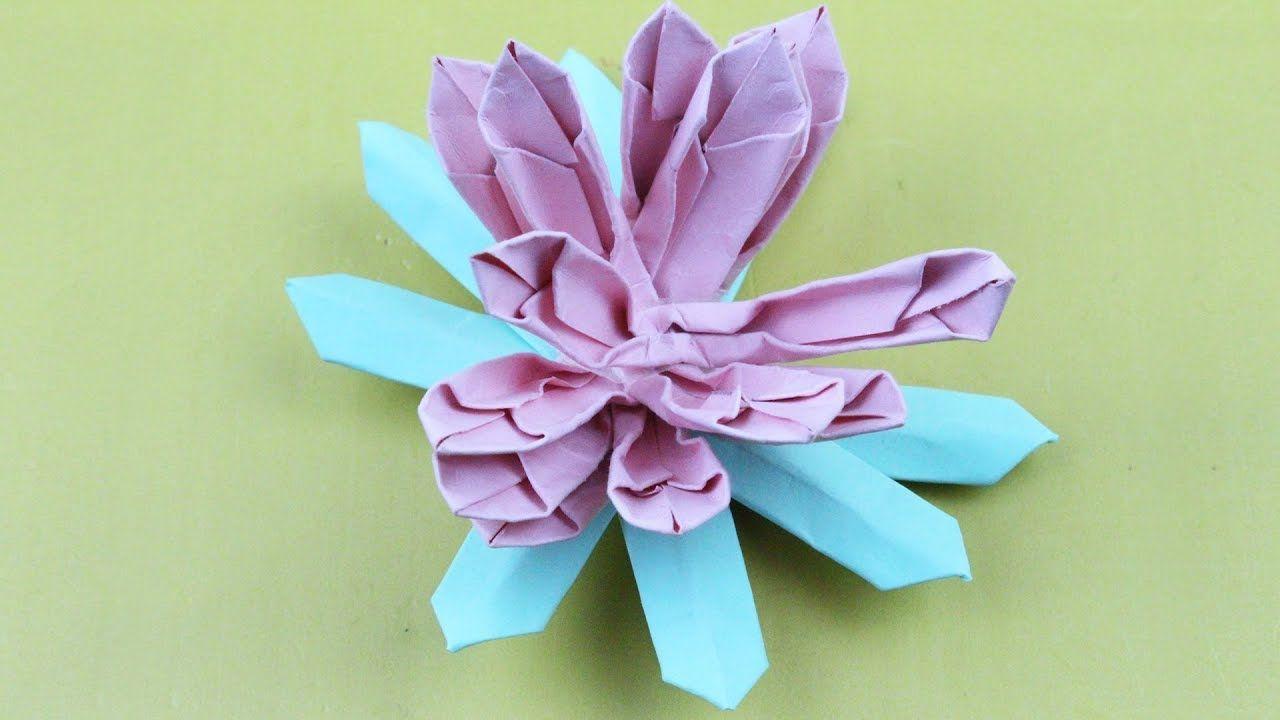 Origami Lotus Of Origami Flower Origami Lotus Flower Instructions