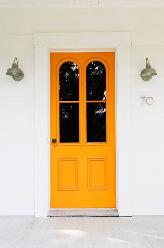 8 Unusually Beautiful Front Door Colors You\u0027d Never Think to Try : think doors - pezcame.com