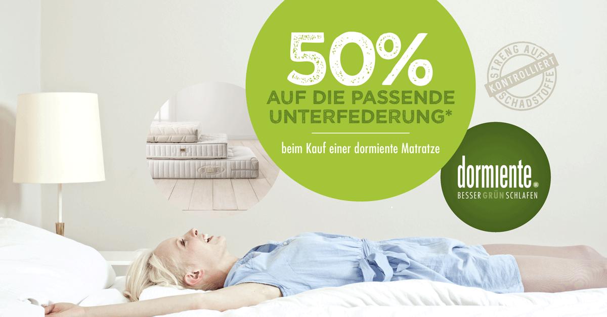 50 Rabatt Auf Die Passenden Lattenroste Beim Kauf Einer Dormiente Matratze Matratze Schlafen Wohlfuhlen