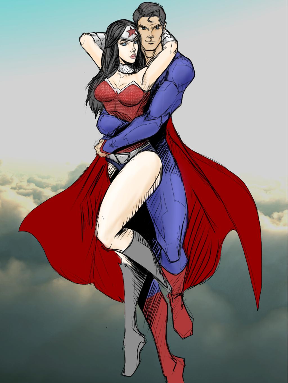 Superman y wonder woman-1734