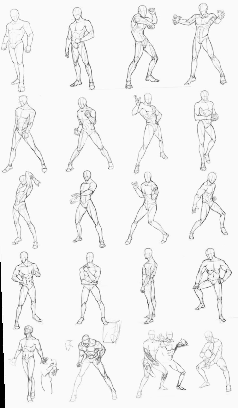 Anime Poses Male Deviantart Mangacosplay Mha Myheroacademia Male Figure Drawing Body Reference Drawing Male Pose Reference
