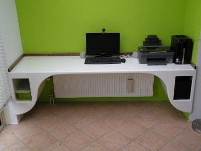Zwevend Bureau Maken : Bureau mdf zelf maken bureau van meubelatelier geert pinxten