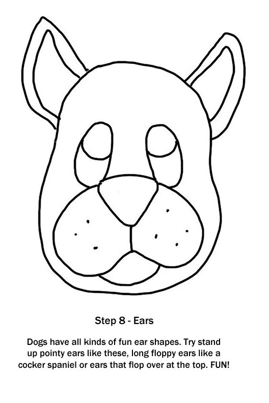 How To Draw A Dog Step 8 Ears Like Dogs Themselves Ears Come In All Shapes And Sizes Pointy Round Floppy And Long Kids Book Series Dog Steps Art Class