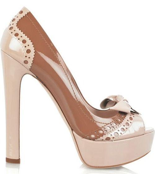 Novos calçados da Miu miu