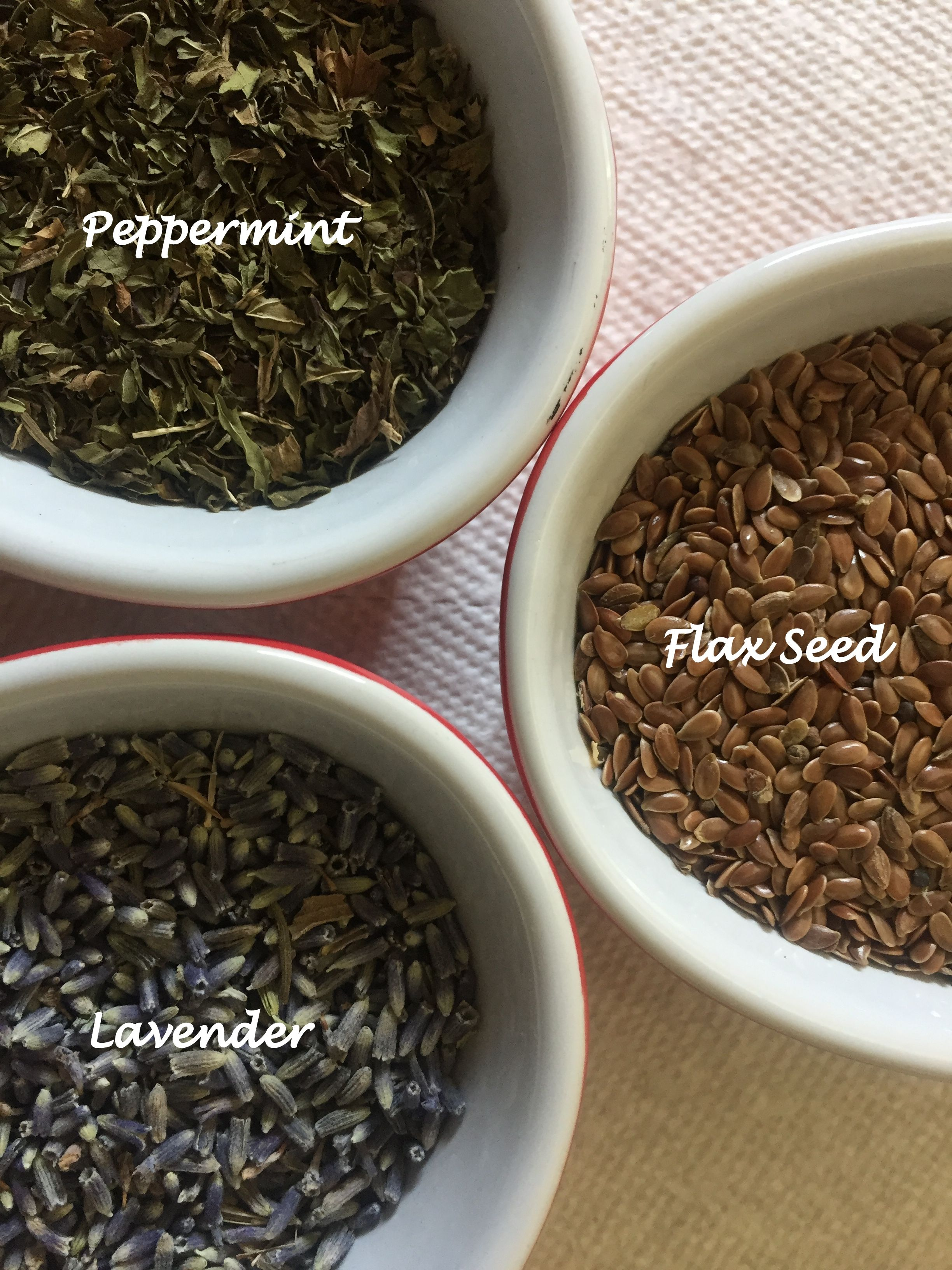 Each Wrist Rest Set Is Filled With Flax Seed And Optional Dried Lavender Or Peppermint How To Dry Basil Dried Lavender