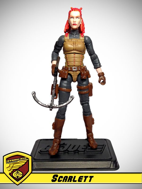 OG 13 :: Scarlett - G.I. Joe customs