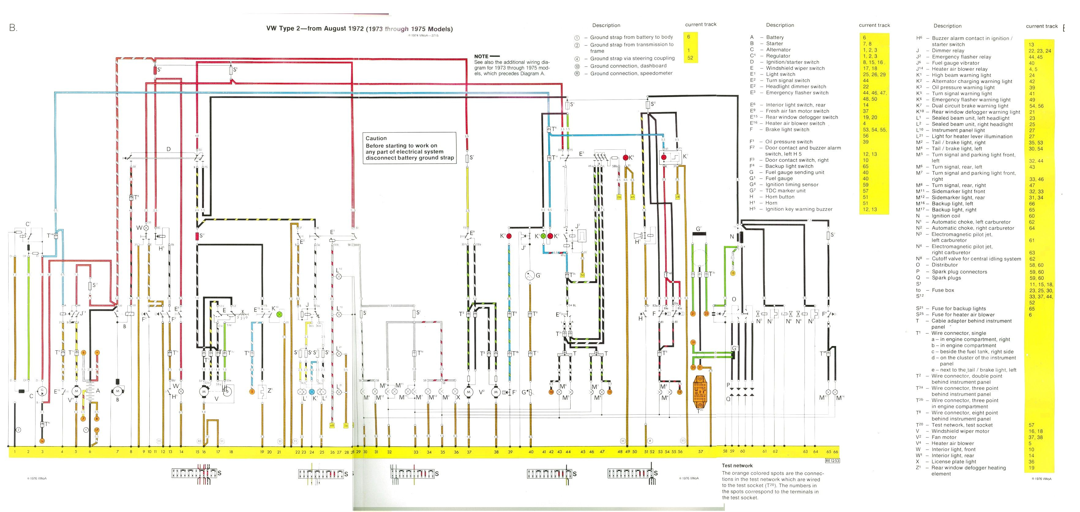 Pin by Mike Howe on wiring | Diagram, Vw bus, Wire
