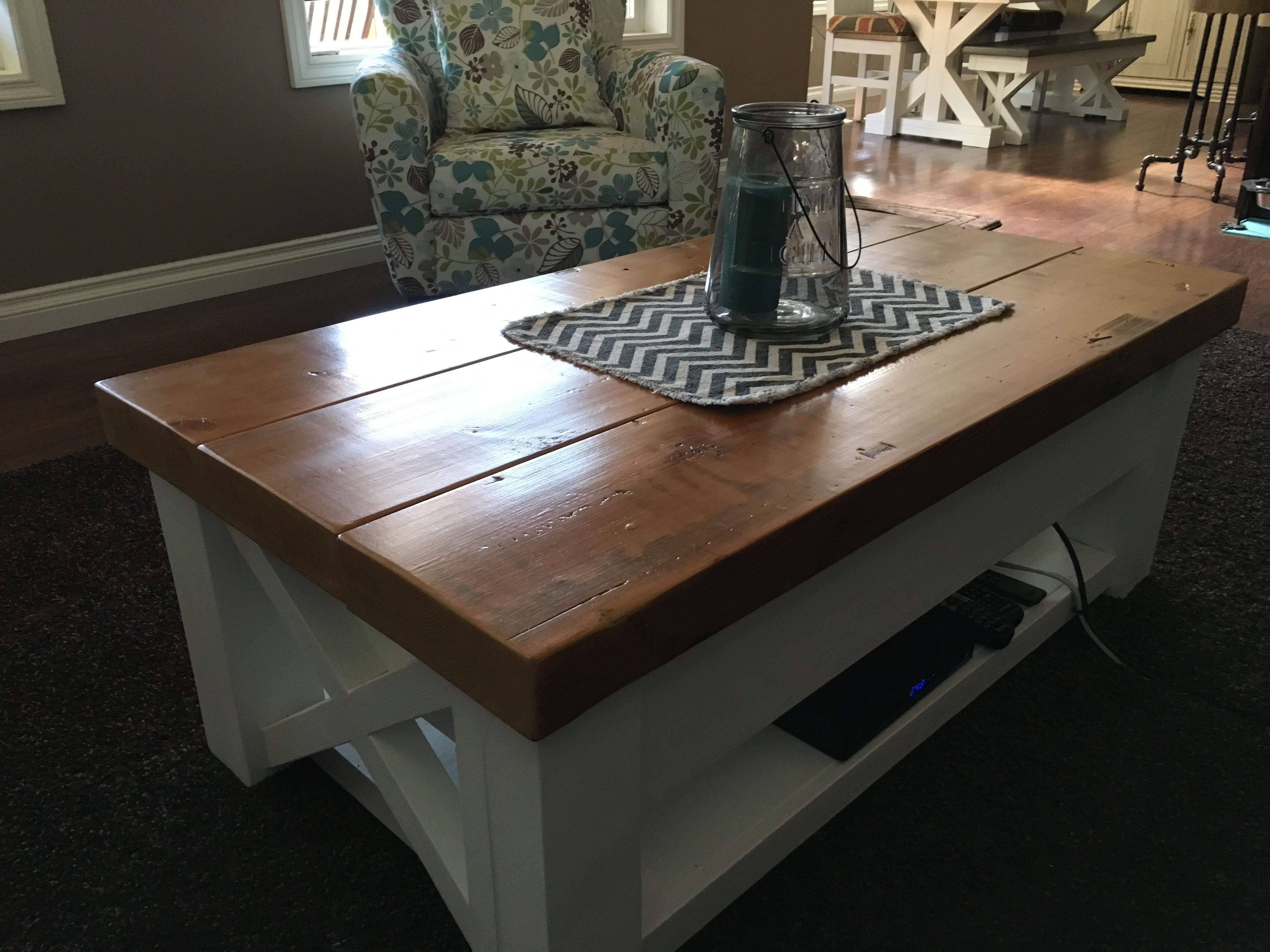 - This Is A Custom Built Coffee Table Made To My Spec By Barn Find