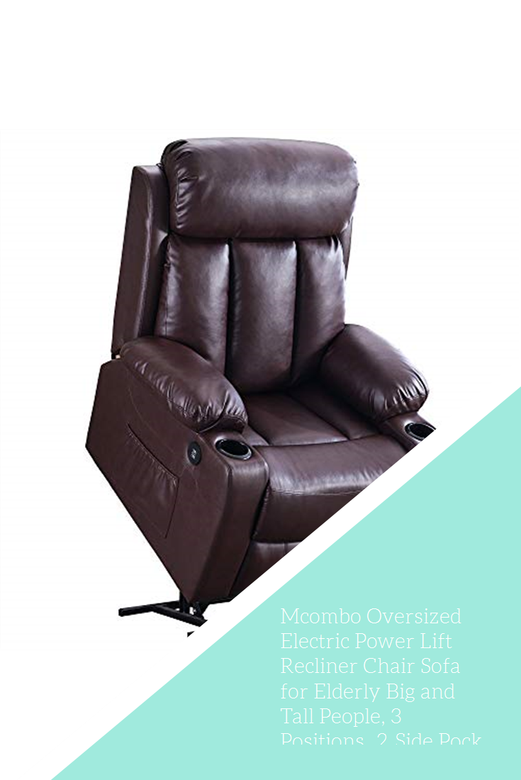 Best Mcombo Oversized Electric Power Lift Recliner Chair Sofa 400 x 300