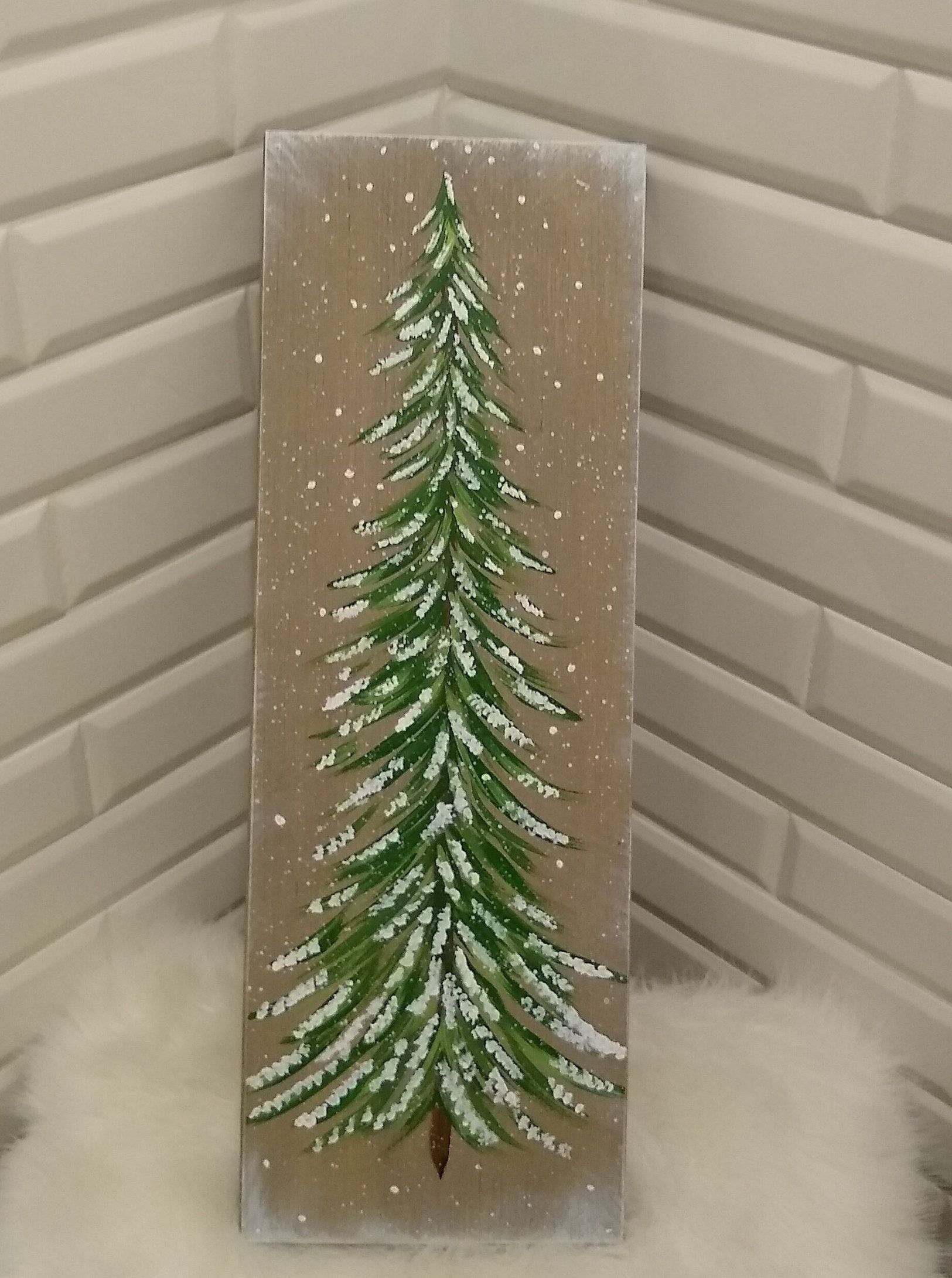 Pine Tree Art Grey Farmhouse Decor Winter Home Decor Christmas Tree Sign Winter Tree Decor Christma Cool Christmas Trees Music Room Art Pine Tree Art
