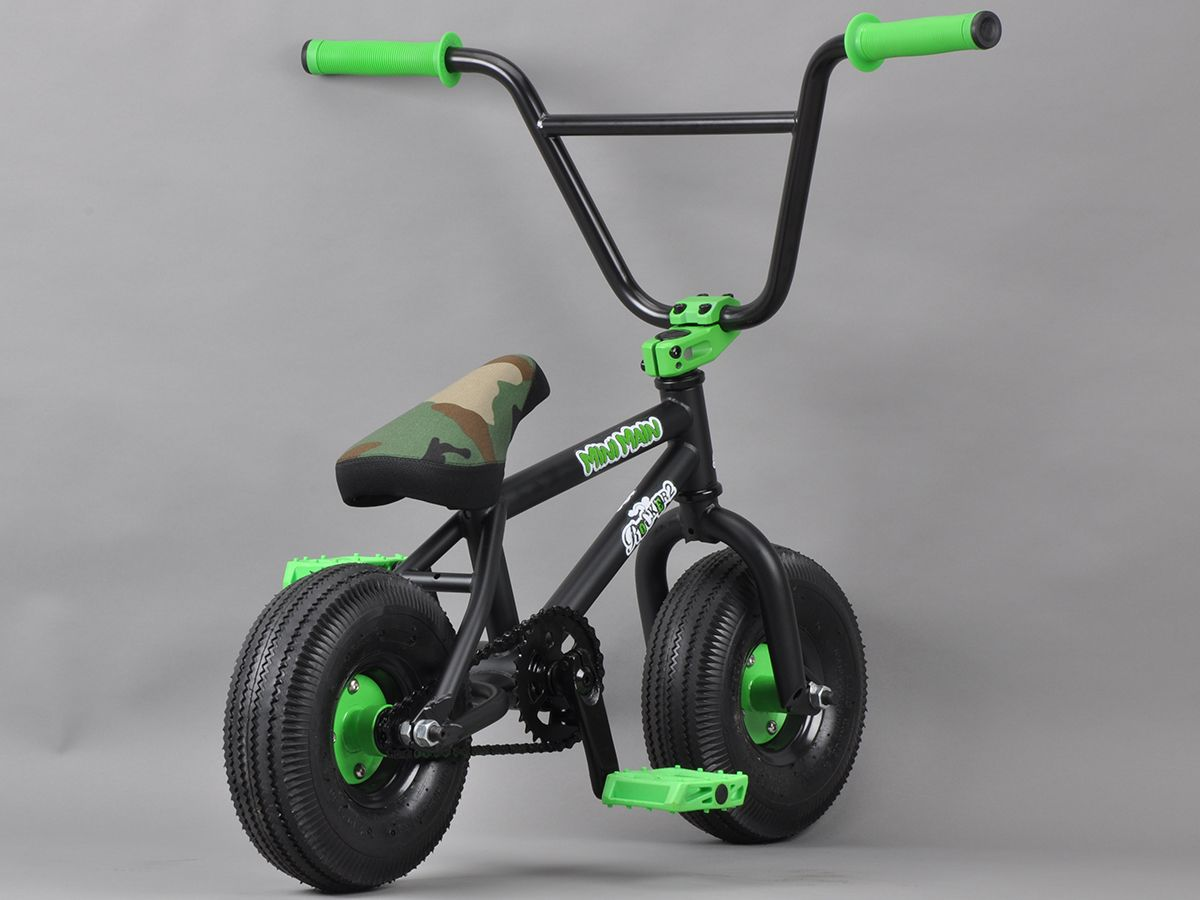 Rocker 2 Mini Bmx Minimain Black Camo Rocker 2 Highly