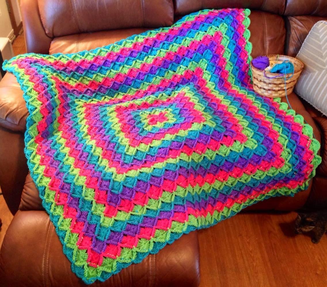 Brites Bavarian Crochet Afghan   Crochet blankets and afghans ...