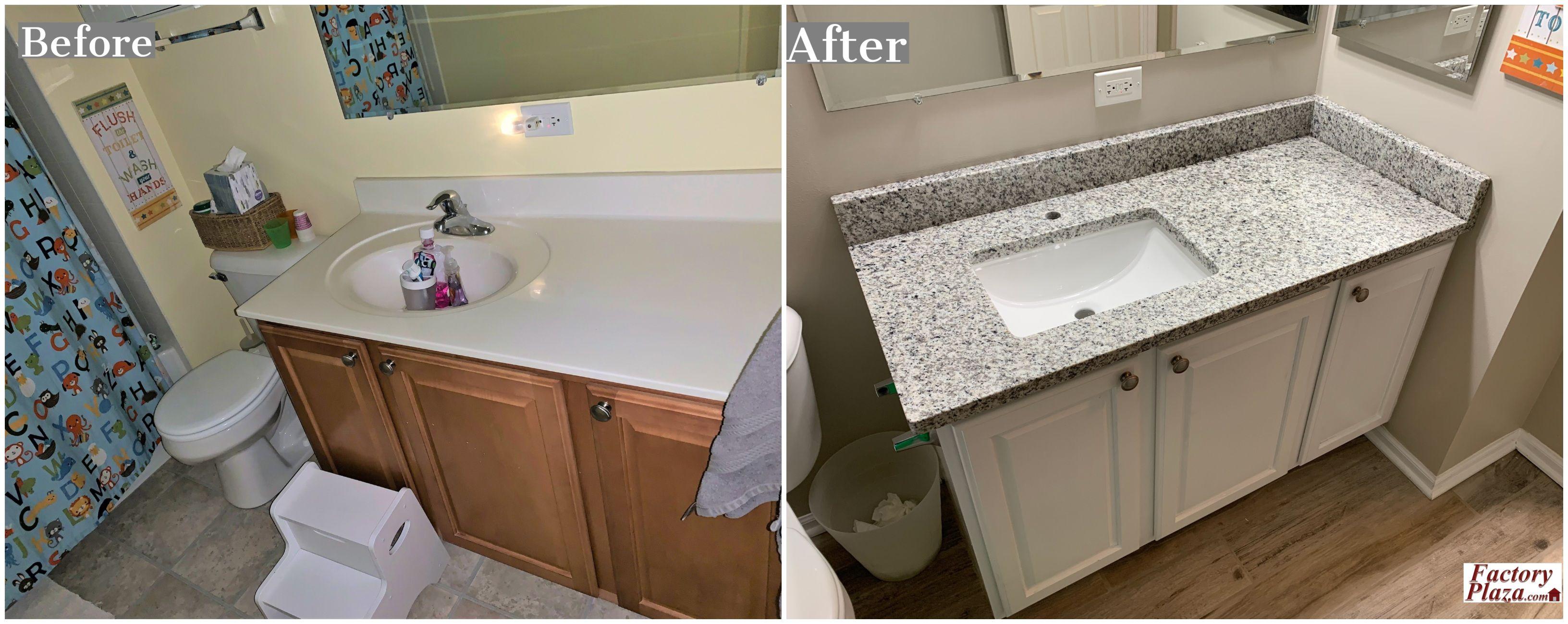 Granite Vanity Top Kitchen Cabinets And Countertops Granite