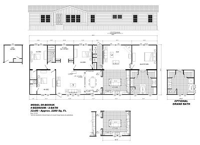 Model 09-B6594 - Double Section - Our Homes