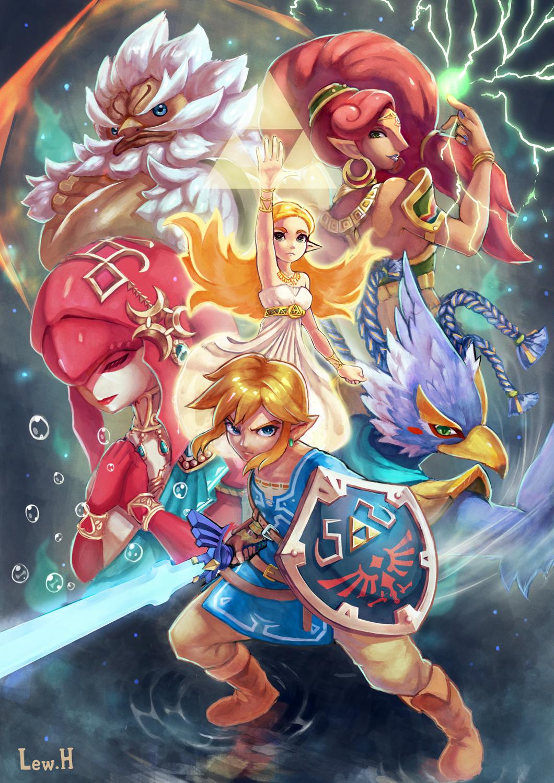 Les Prodiges Dessin Zelda Zelda Jeux Dessin Jeux Video