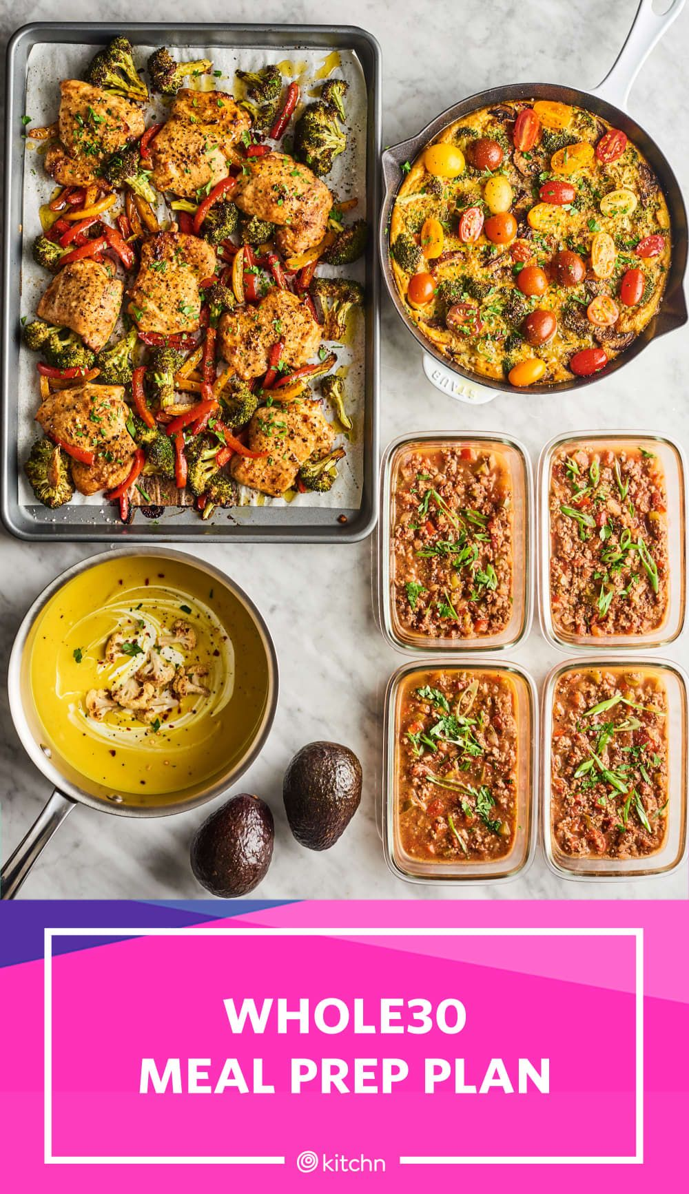 Meal Prep Plan: How I Prep a Week of Whole30 Meals for 2 ...