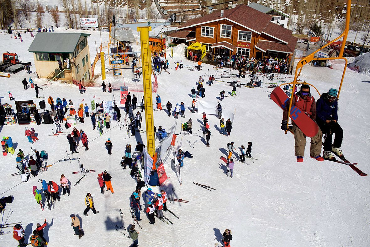Beautiful Iran Iran Tourism Go Skiing Tourism