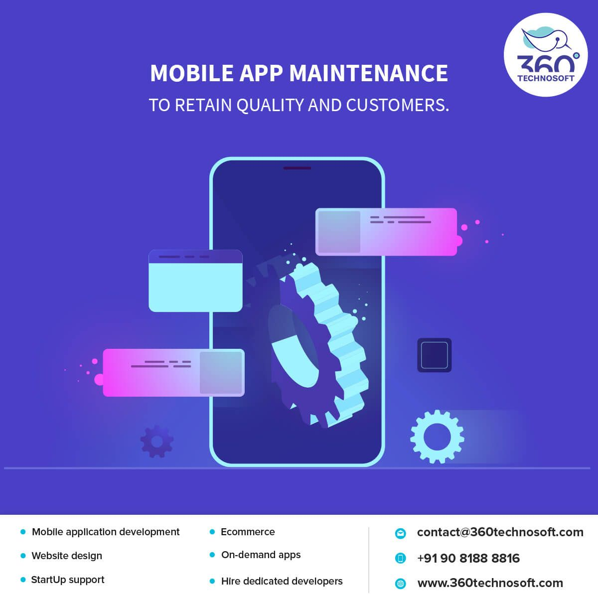 Mobile app maintenance is not just to make it work like