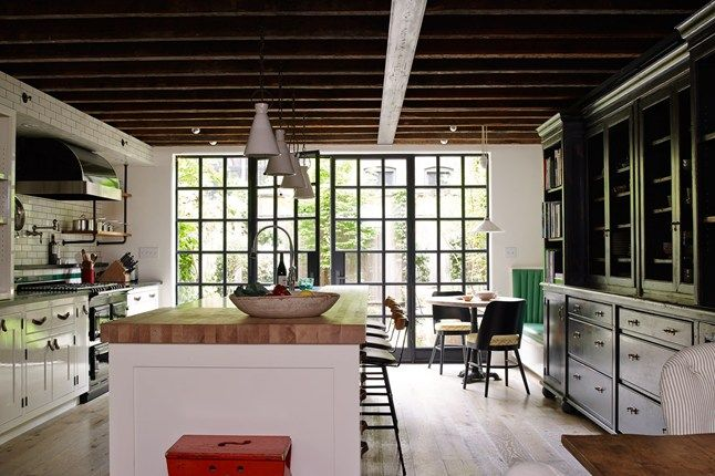 Town house manhattan   west village real homes interior design houseandgarden also  stylish townhouse in time out at home rh pinterest