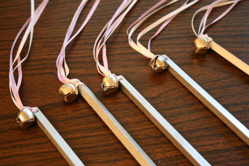Polish Wedding Sticks With Ribbons