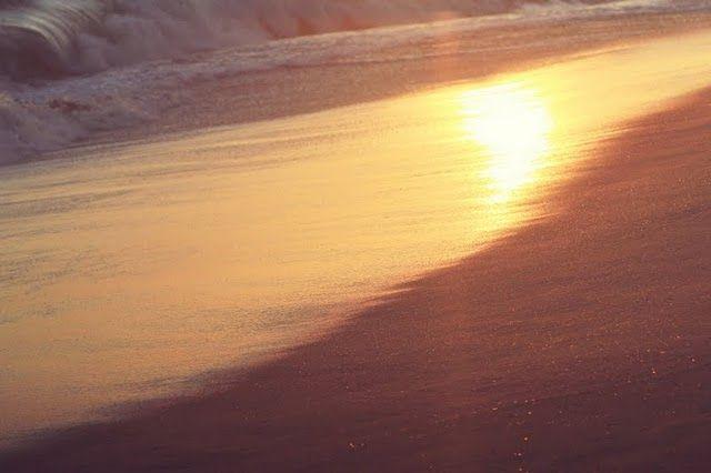 golden sand.