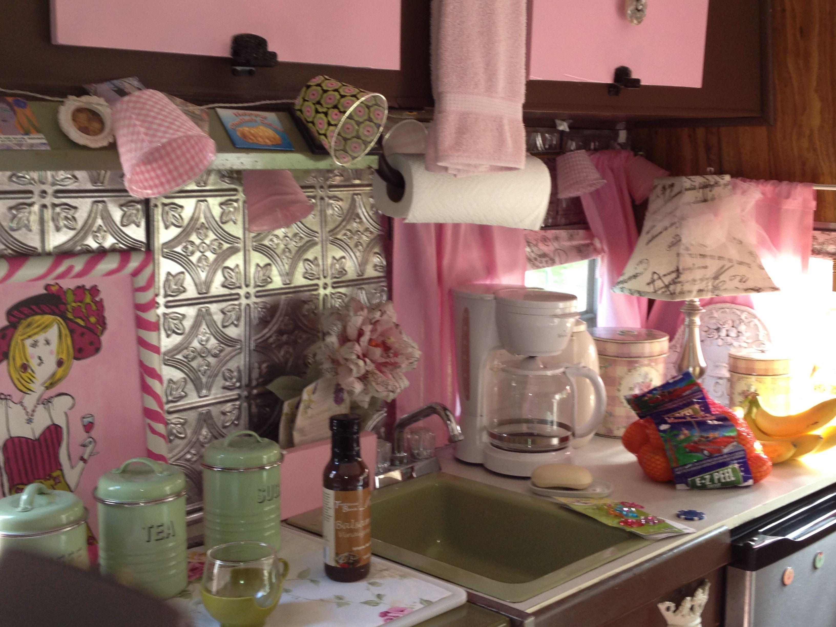 Adell The Glamper Vintage Camper Interior I Think Its A