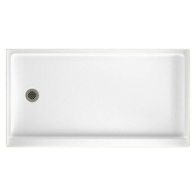 Swan Solid Surface 32 X 60 Single Threshold Shower Base