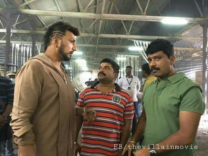 Here Is The Exclusive Pic Of Kicchasudeep Other Side Hairstyle 2nd