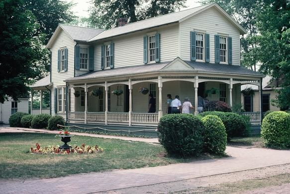 The Wright Brothers Home In Greenfield Village Dearborn Mi My