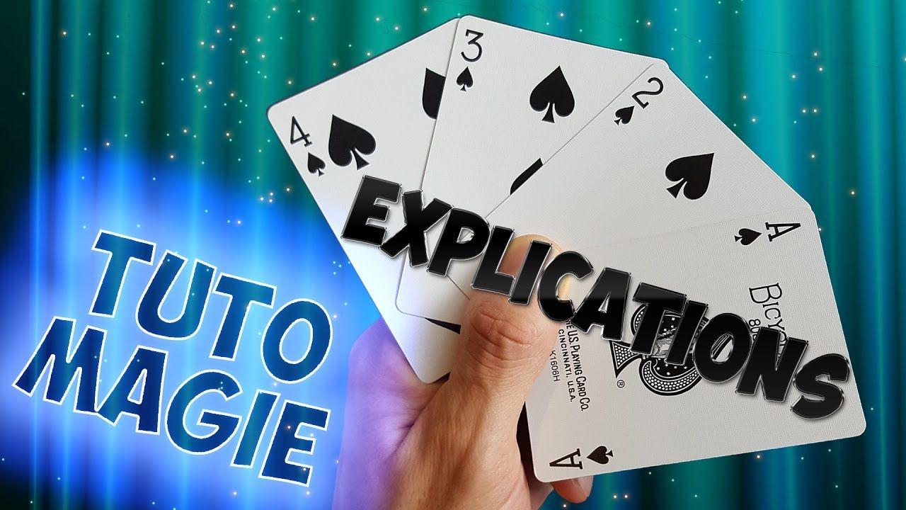 tour de magie carte tutoriel