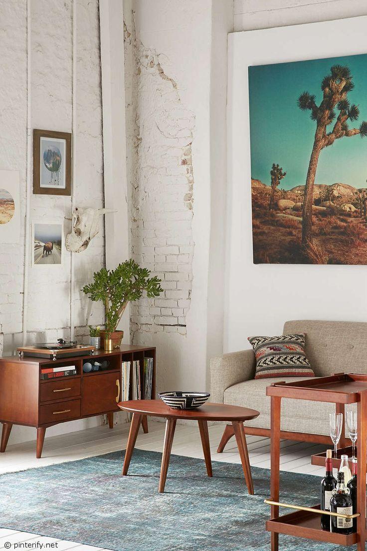 15 Inspirations Qui Vous Donneront Envie De Craquer Pour Un Tapis Vintage Deco Mobilier De Salon Et Deco Maison