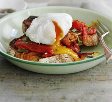 Turkish style eggs on garlic sourdough recipe recipes bbc good food heaven turkish style eggs on garlic sourdough recipe recipes bbc good food forumfinder Image collections